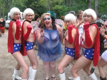 bevin of queer fat femme