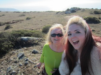 When I was visiting my mom for Christmas we went on a hike at Point Reyes for my birthday (which is Christmas Eve).