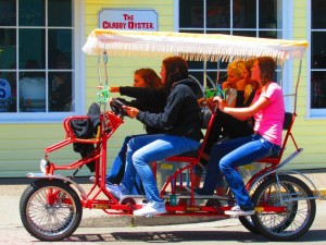 Grab the girls to peddle around Seaside at EDEN Pacific Northwest. (Photo: Courtesy of Eden Pacific Northwest)