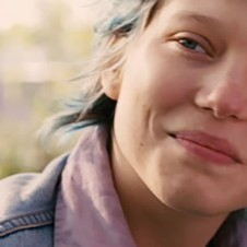 Lea Seydoux in Blue is the warmest color