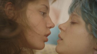 "Scene from ""Blue is the Warmest Color"""