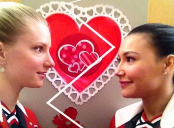 Glee's Brittany and Santana