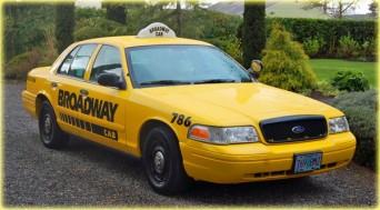 Broadway Taxi cab