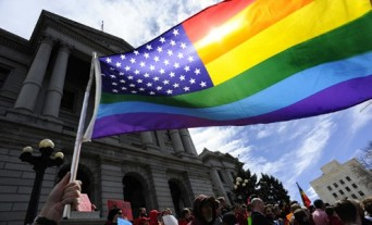 Colorado Civil Unions and Rainbow Flag