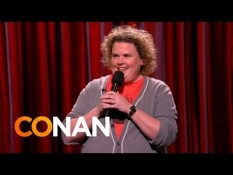 Comedian Fortune Feimster on 'Conan'