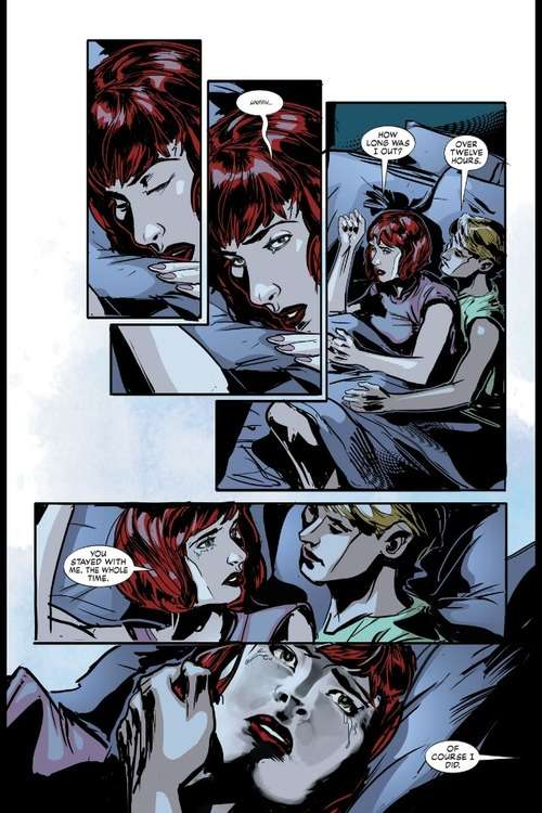 batwoman 23, spooning