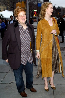 Cynthia Nixon and wife