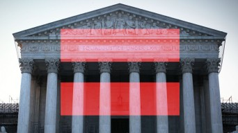 Supreme Court with equality symbol