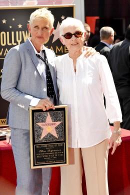Betty and Ellen DeGeneres