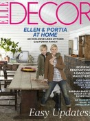 Ellen and Portia, Elle Decor