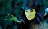 Actress Willemijn Verkaik as Elphaba on Broadway