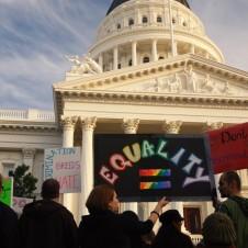 Rally for equality
