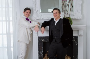 fourteen style lesbian queer trans wedding suits