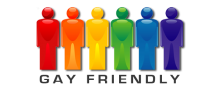 Gay friendly logo