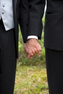 Gay couple's wedding photo used in anit-LGBT campaign