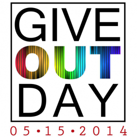 National Give OUT Day 2014 logo