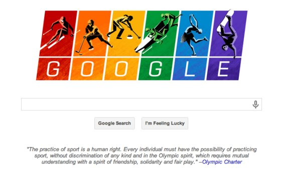 LGBT Olympic Google Doodle