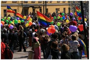 Pride in Helsinki, Finland