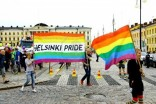 A Pride march in Helsinki, Finland in 2012.