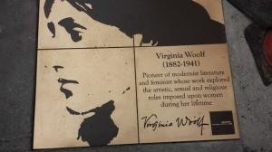 Virginia Woolf, Rainbow Honor Walk, San Francisco
