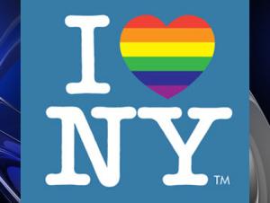 A logo from the New York's LGBT tourism website (Photo via: lgbt.iloveny.com)