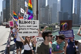 Illinois Marriage Equality Rally