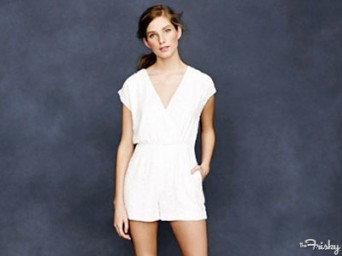 J. Crew wedding romper