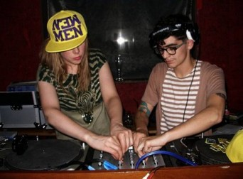 JD Samson, right.