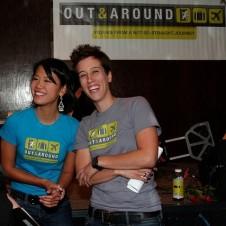 Jenni and Lisa of OutAndAround.com