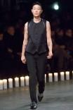 Jenny Shimizu modeling for Givenchy (Photo via Style.com)