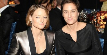 Jodie Foster Alexandra Hedison wed