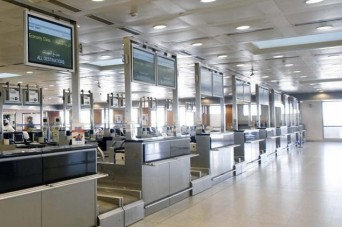 Airport security with flights to Middle East