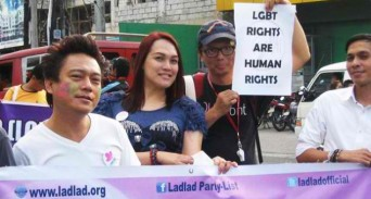 Members of the Phillipines' Ladlad party