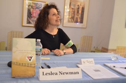 Lesléa Newman (Photo via GLAAD)
