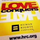 HRC Love Conquers Hate Campaign