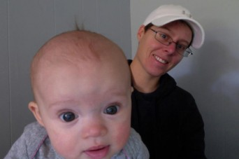 Lyndsey D'Arcangelo and baby Maggie