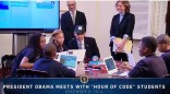 Megan Smith codes with Obama