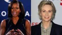 Michelle Obama and Jane Lynch to appear at Chicago presidential fundraiser