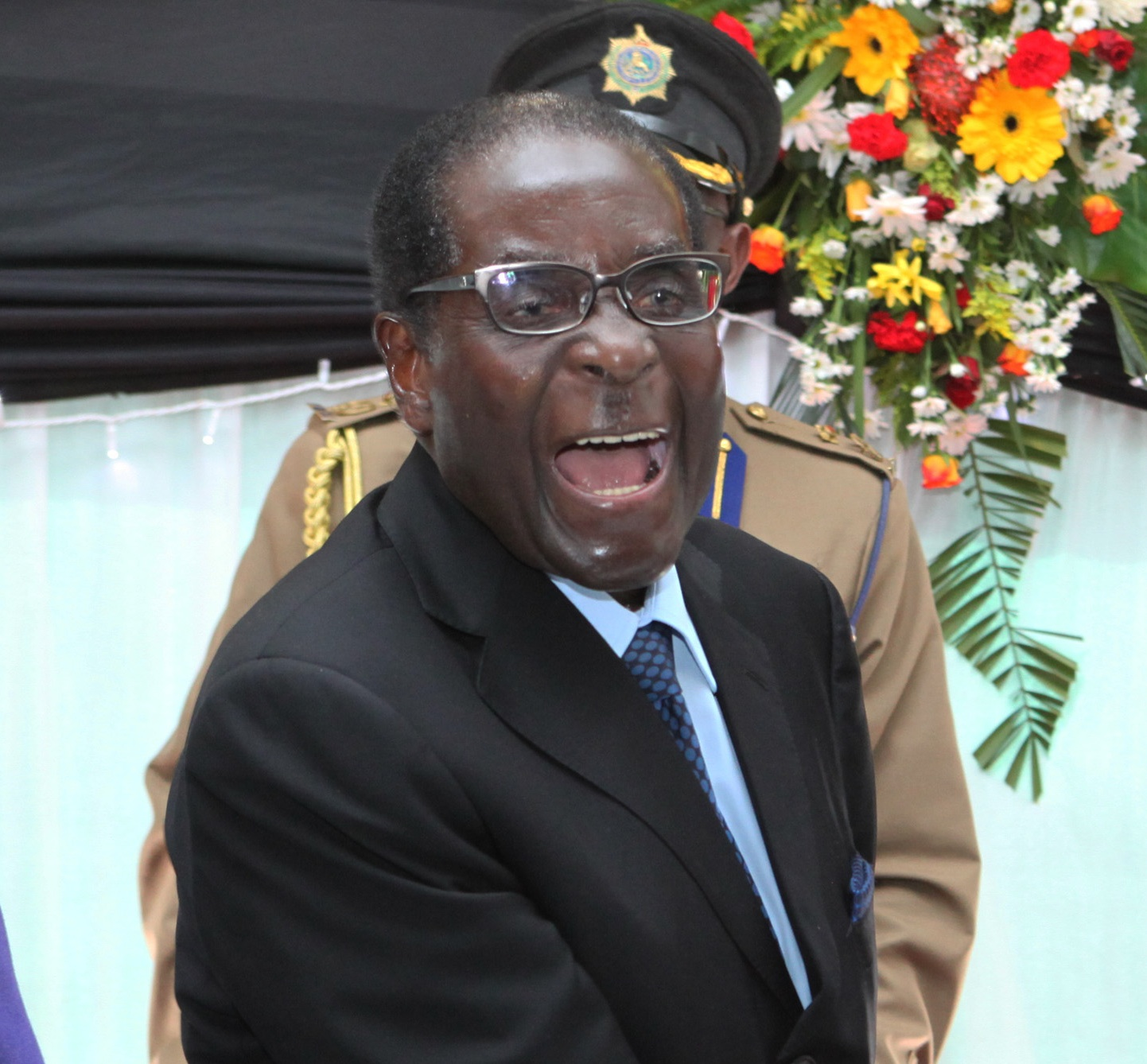 President of Zimbabwe, Robert Mugabe