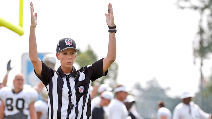 NFL first female referee