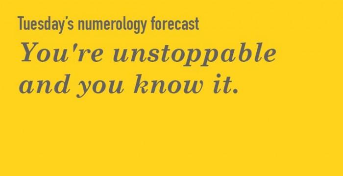 Numerology Tuesday