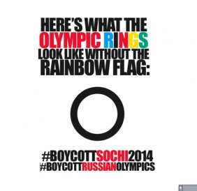 Many are calling for an international protest of the 2014 Sochi Olympics in light of Russia's current laws impacting the LGBTQ community.