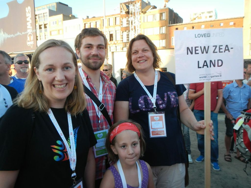Participants at worldOutgames III in Antwerp