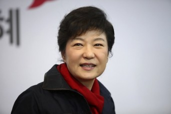 South Korean President-elect Park Geun-hye.
