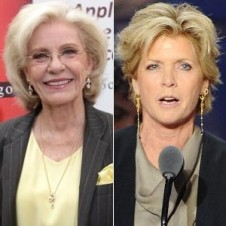 Patty Duke, left, and Meredith Baxter