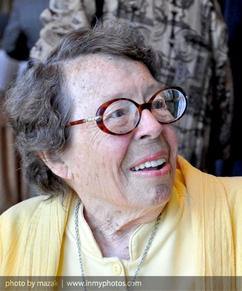 Feminist and gay rights activist Phyllis Lyon