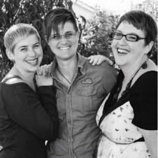 Polyamorous trio