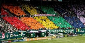Portland Timbers support marriage equality