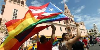 LGBT march in Puerto Rico