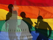 House passes 'gays can't marry on base' amendment